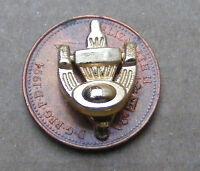 Dolls House 1:12 Scale Brass Georgian Door Knocker Metal Miniature Accessory