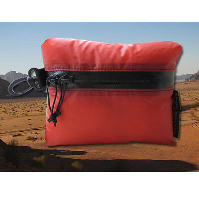 Fire Red Small Survival Kit Pouch - Ultralight