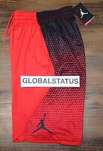 9ec40da8fd0e36 NIKE JORDAN FLIGHT VICTORY GRAPHIC RED BLACK RETRO SHORTS 800911 696 ...