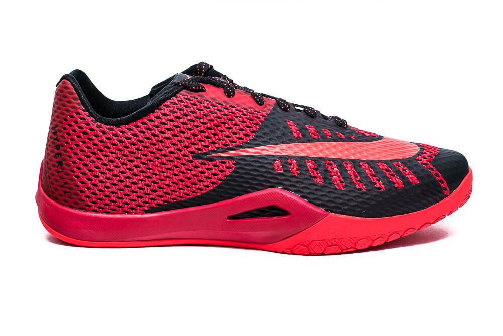 NIKE HYPERLIVE MENS BASKETBALL SHOES UNIVERSITY RED BLACK GYM RED 819663 600