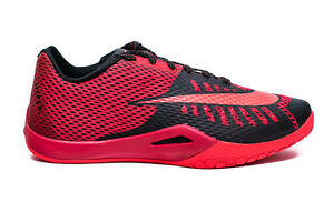 New Nike Mens Hyperlive Athletic Basketball Shoes 819663-600 sz 10 Red-black