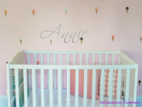 Personalized Name Nursery Wall Decor Custom Name Vinyl Wall Decal Sticker room