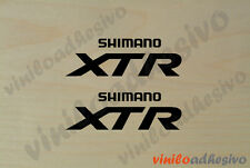 PEGATINA STICKER VINILO Bicicleta Shimano XTR ref2 biela autocollant aufkleber
