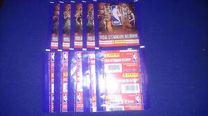 30-UNOPENED-STICKER-PACKS-NBA-2010-11-PANINI