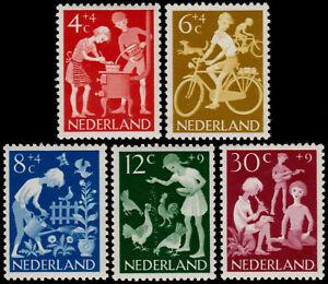 NETHERLANDS-1962-CHILD-WELLFARE-KINDERZEGELS-NVPH-779-783-MNH-OG