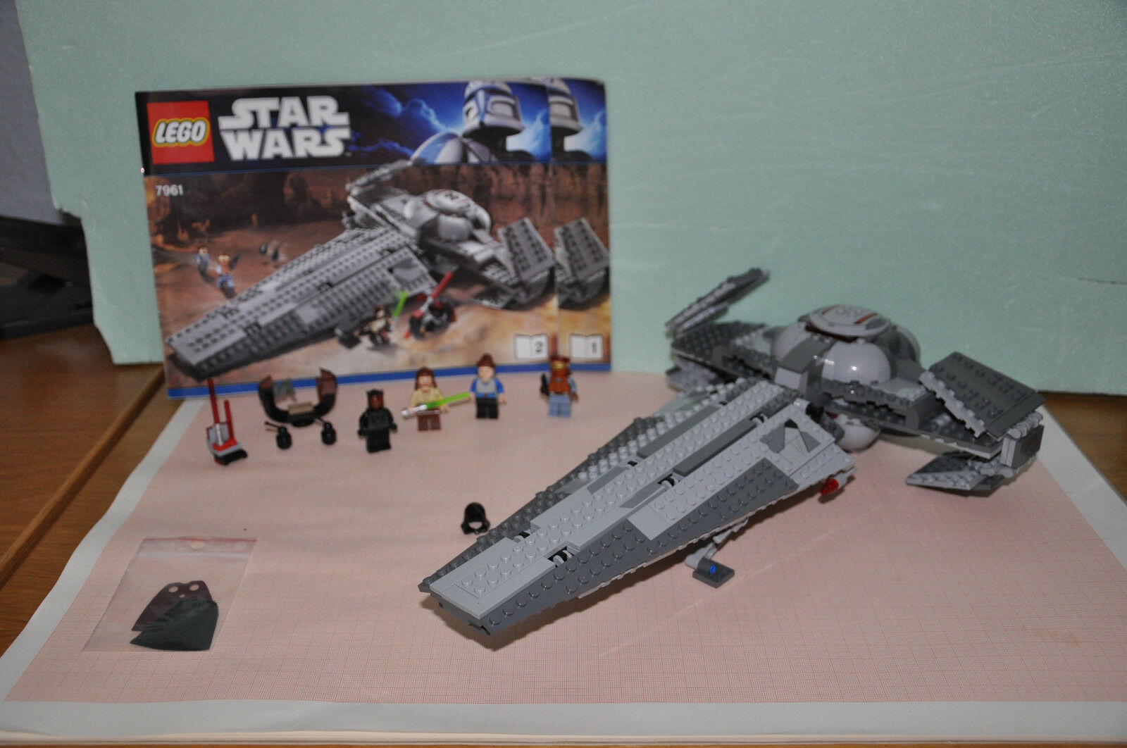 Lego Star Wars Set 7961 Darth Maul's Sith Infiltrator