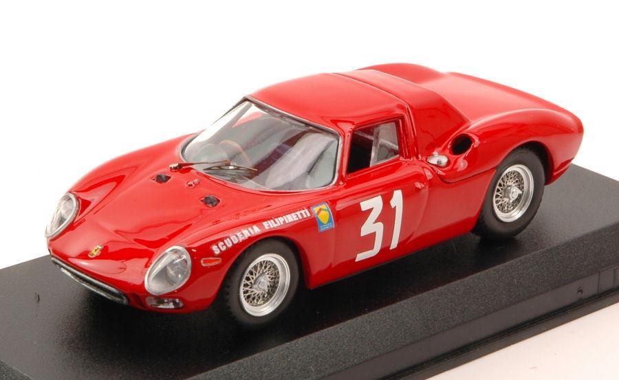 Ferrari 250 LM Winner Monza 1964 N. Vaccarella 1 43 Model BEST MODELS