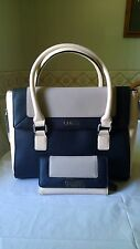 AUTHENTIC NEW NWT GUESS MARKIA BLACK BROWN SATCHEL BAG PURSE AND WALLET