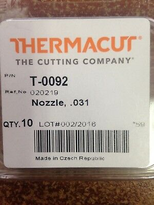 Item 354-Replacement Nozzles 020219 for MAX 20 Plasma Cutters 5-Pack