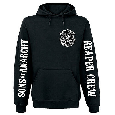 Sons of Anarchy American Outlaw Reaper Crew Hoodie