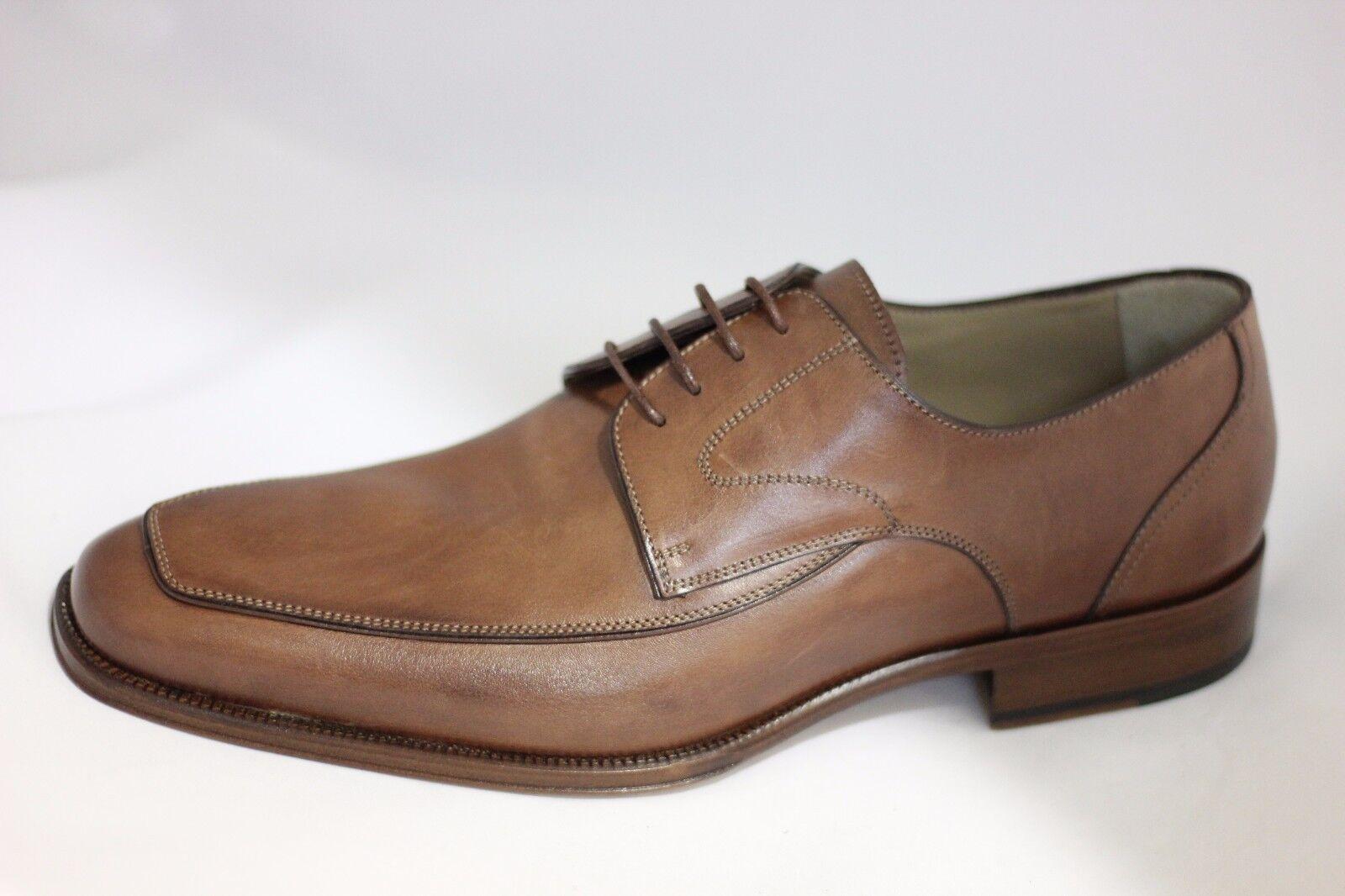 Scarpa marrone elegante stringhe uomo pelle marrone Scarpa REDWOOD 42 outlet sconto 50% 87e160