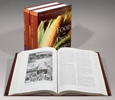 Encyclopedia of Food and Drink in America-Volume 1 & 2 Brand new Set