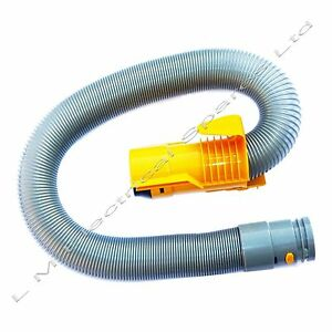 For-Dyson-DC07-Vacuum-Cleaner-Hoover-Hose-Suction-Pipe-Tube-Grey-Yellow
