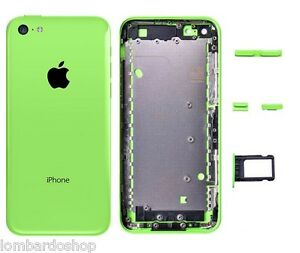 Atras-Cover-Tapa-Middle-Frame-Marco-Trasero-para-IPHONE-Apple-5C-Verde
