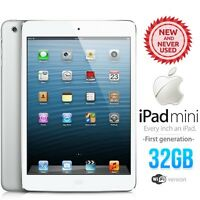 In Sealed Box Apple Ipad Mini 1st Gen 32gb White Pc Tablet (wifi Only)