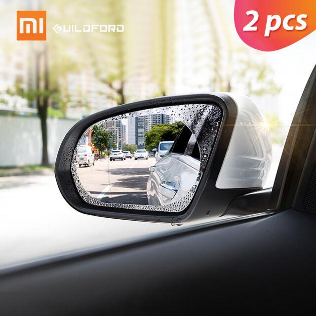2X Xiaomi Guildford Car Rearview Mirror Rainproof sticker Anti-Fog Safety G4X6