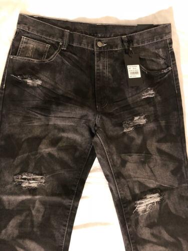 Denim Slim 72 Msrp 36x30 Distress denim Jeans Slim x6xpYf