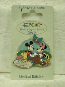 Pin-76050-WDW-Epcot-Flower-and-Garden-Festival-2010-Mickey-amp-Minnie-LN