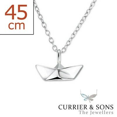 45cm // 18 inch 925 Sterling Silver Light Bulb Pendant Necklace