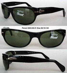 9b9bfde032 Image is loading Brand-New-BLACK-Persol-2603-Sunglasses-with-Free-