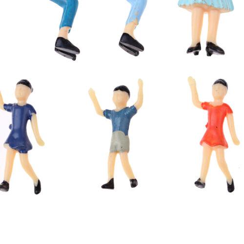 und Landschaftsmodelle 30pcs 1//25 Menschen Modell Action Figuren für Layout