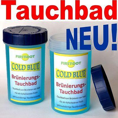 COLD BLUE Brünierungs-Tauchbad: direktes Tauchbrünieren ohne umfüllen! -->NEU!<-