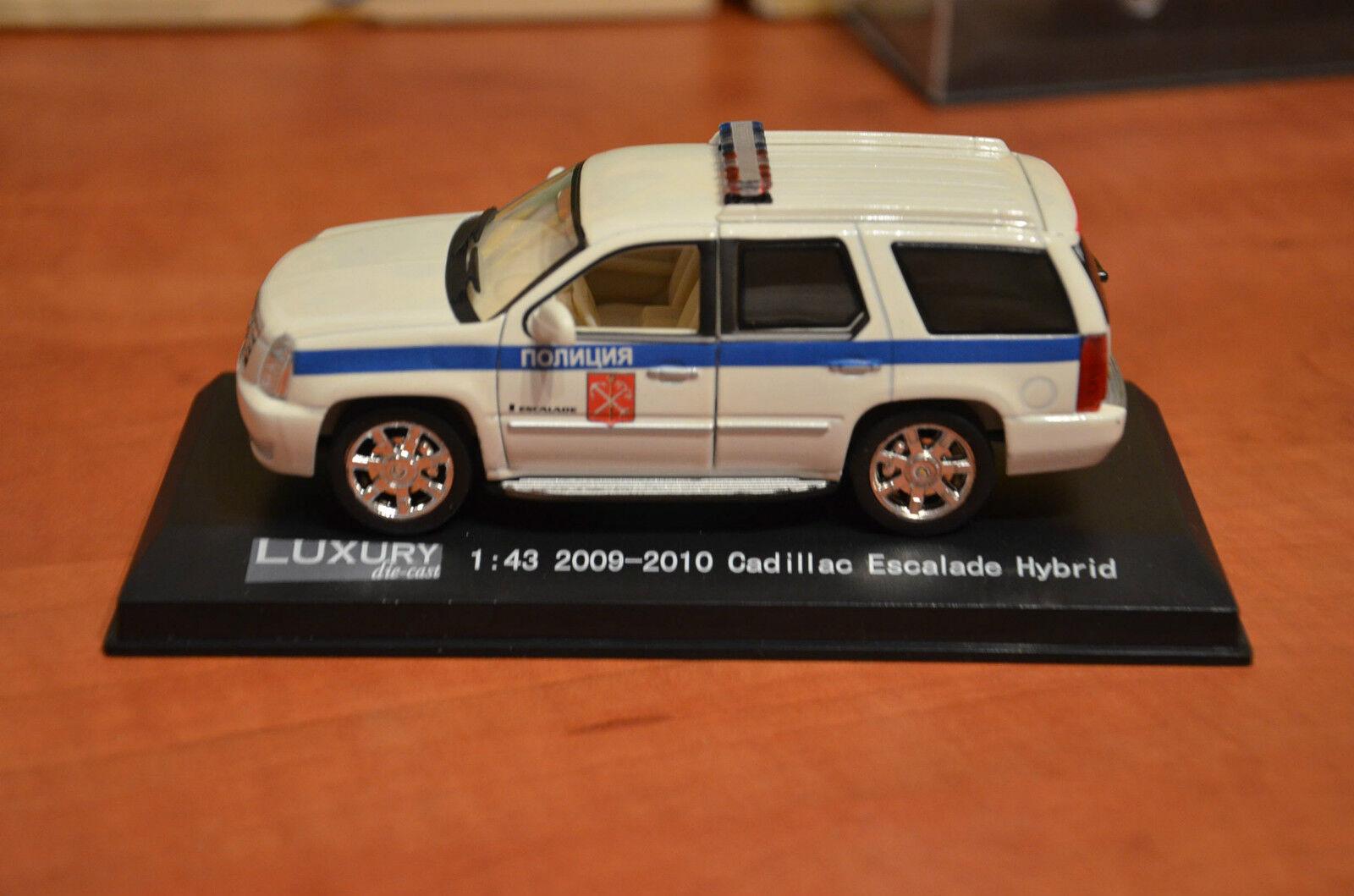 rara      Cadillac Escalade la policía rusa Jeep 1 43 a06e01