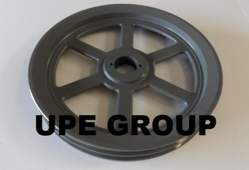 """Cast Iron pulley SHEAVE  12.75/"""" for electric motor 2 groove for B /& 5L 5//8 belts"""
