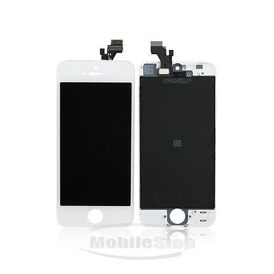 Apple iPhone 5 5G White LCD Display Screen + Touch Digitizer Glass Assembly OEM