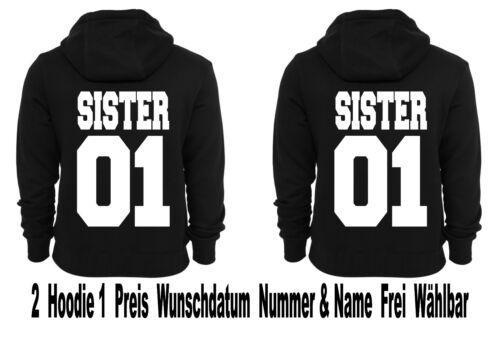 cappuccio Sister Felpa Blogger con 2xl To Xs Look Partner Motiv Pullover TFAAO7qw4S