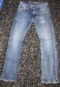 Vintage-LEVI-039-S-506-STANDARD-jeans-taille-W31-L34-Bon-etat