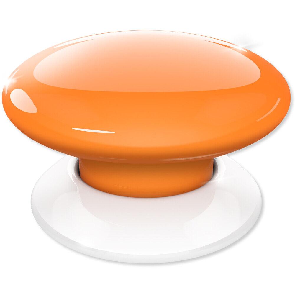 FIBARO The Button Z-Wave Scene Controller, orange (FGPB-101-8 US)