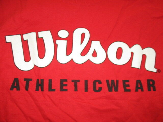Vintage WILSON Branded Label - Athleticwear (2XL) Heavy T-Shirt