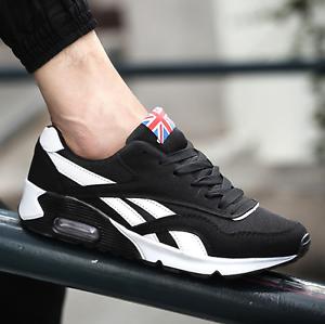 RUNNING TRAINERS MEN'S WALKING SHOCK In ABSORBING SPORTS FASHION SHOES In SHOCK UK6-9.5 00f1d1