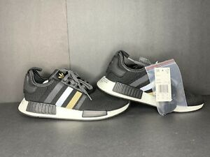 Ds Adidas Originals Nmd R1 Black White Mens Sneakers Boost Eh2749