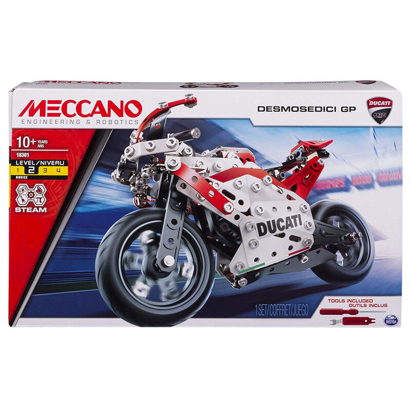 Meccano Ducati Desmosedici Gp Model Set - 20102573-new