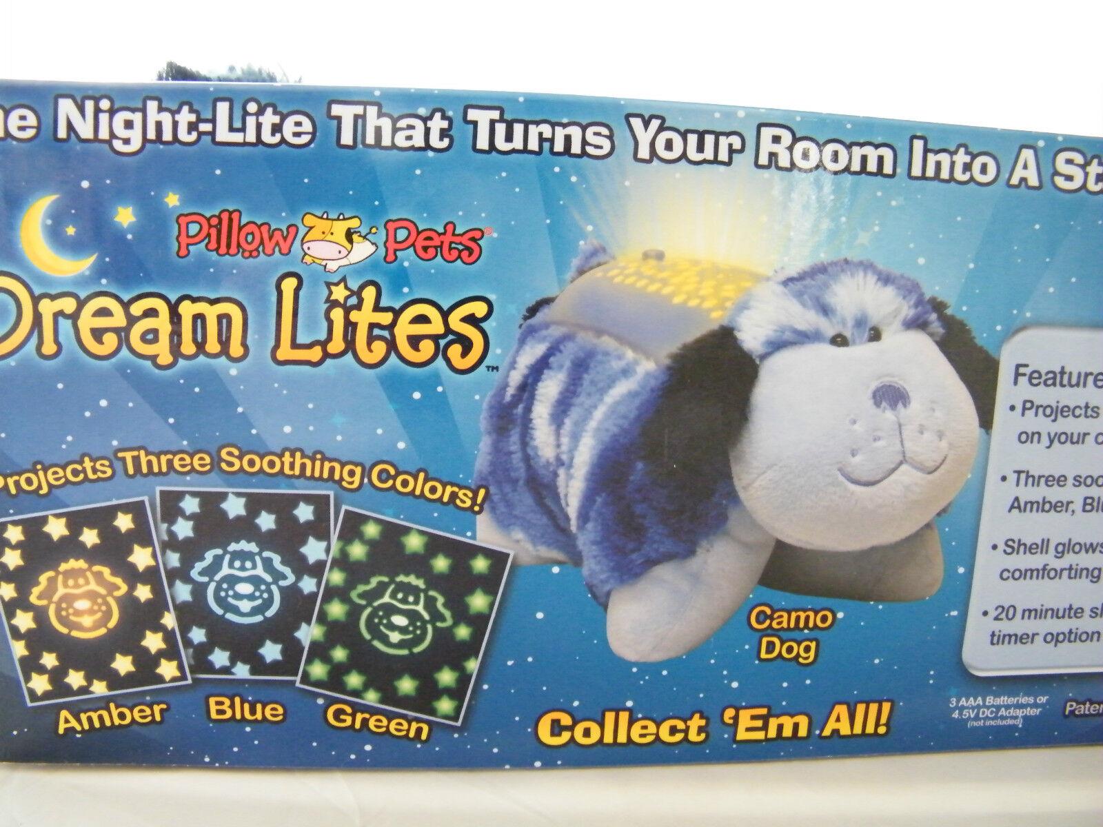 Schlummerlicht Kissen Pillow Pets Dreamlites Dreamlites Dreamlites aus 5 versch..Tieren wählen süß 07f57a