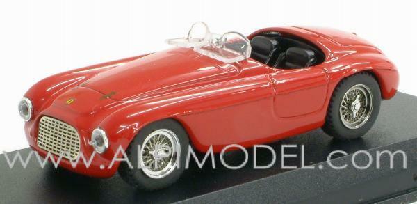 Ferrari 166 MM Spider rosso 1 43 ART 005