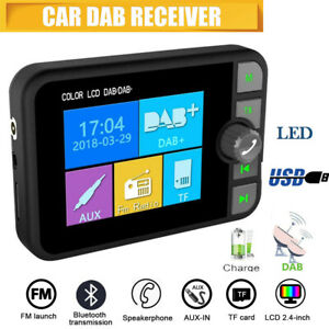 C6-LCD-Auto-Bluetooth-FM-Transmitter-DAB-Radioempfaenger-Micro-USB-Music-Player