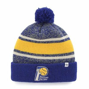 huge discount d476d 6f83b Image is loading New-NWT-Indiana-Pacers-NBA-47-Brand-Fairfax-