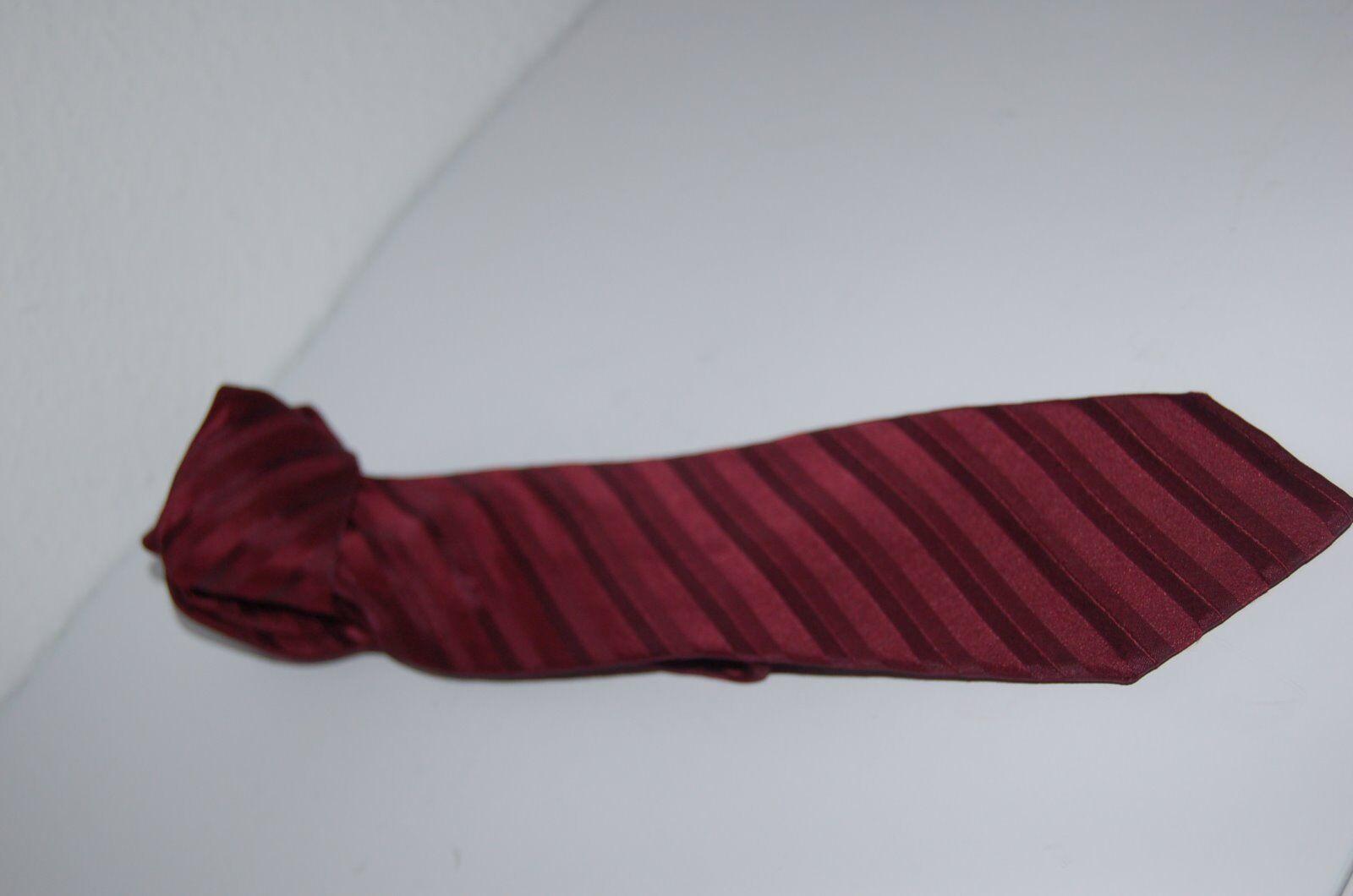 Andrew James - Krawatte - dunkelrot