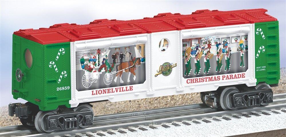 Lionel 6-26859 christmas parade box car o - modelleisenbahnen