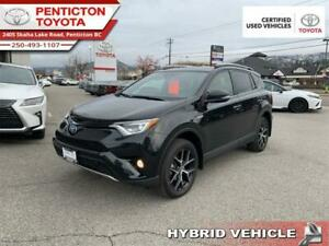 2018 Toyota RAV 4 AWD SE  - Toyota Certified - Low Mileage