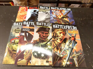 Battlefields-Magic-Press-completa-1-8-Garth-Ennis-nuova