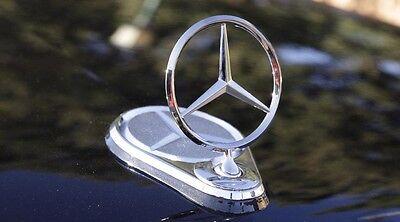 W210 W221 W220 Emblem Hood Mount Badge Ornament Upright Standing StarFor Benz