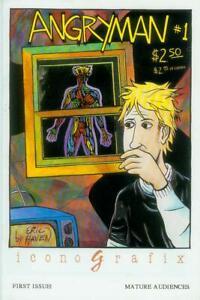 Prudent Angryman # 1 (of 3) (eric Haven) (iconografix Usa, 1992)-afficher Le Titre D'origine Ferme En Structure