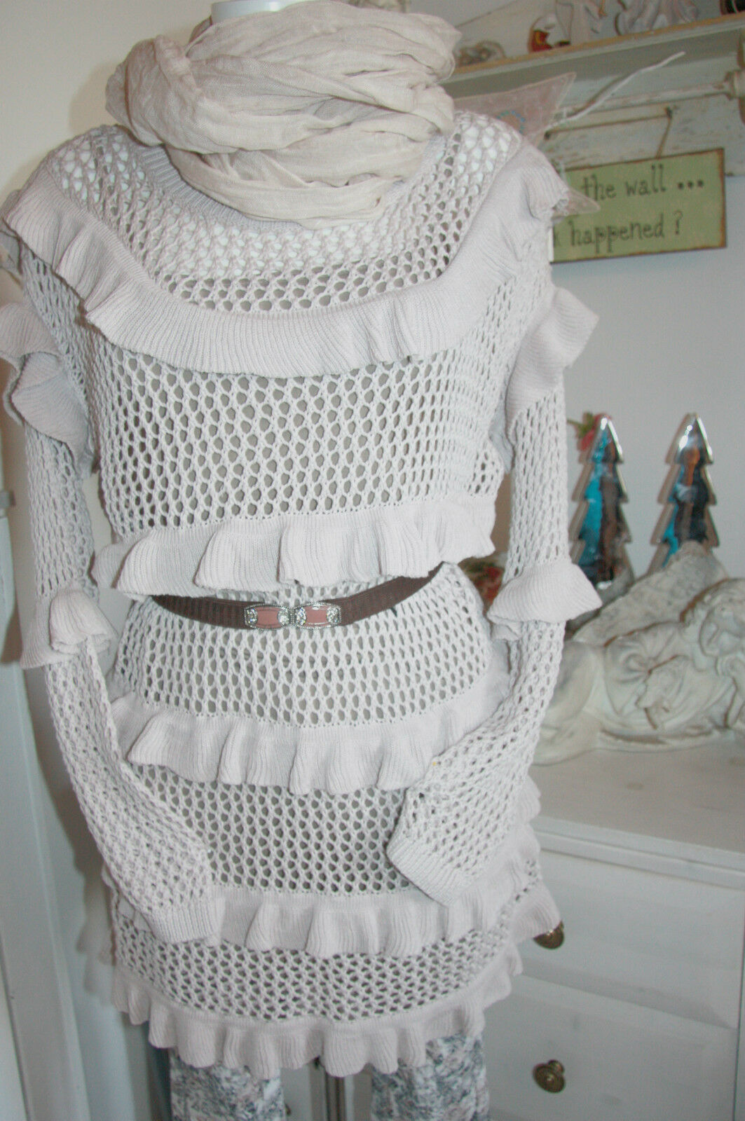 Cream DK Long Shirt Long Pullover manica lunga Powder SKY Dimensione  XL NUOVO