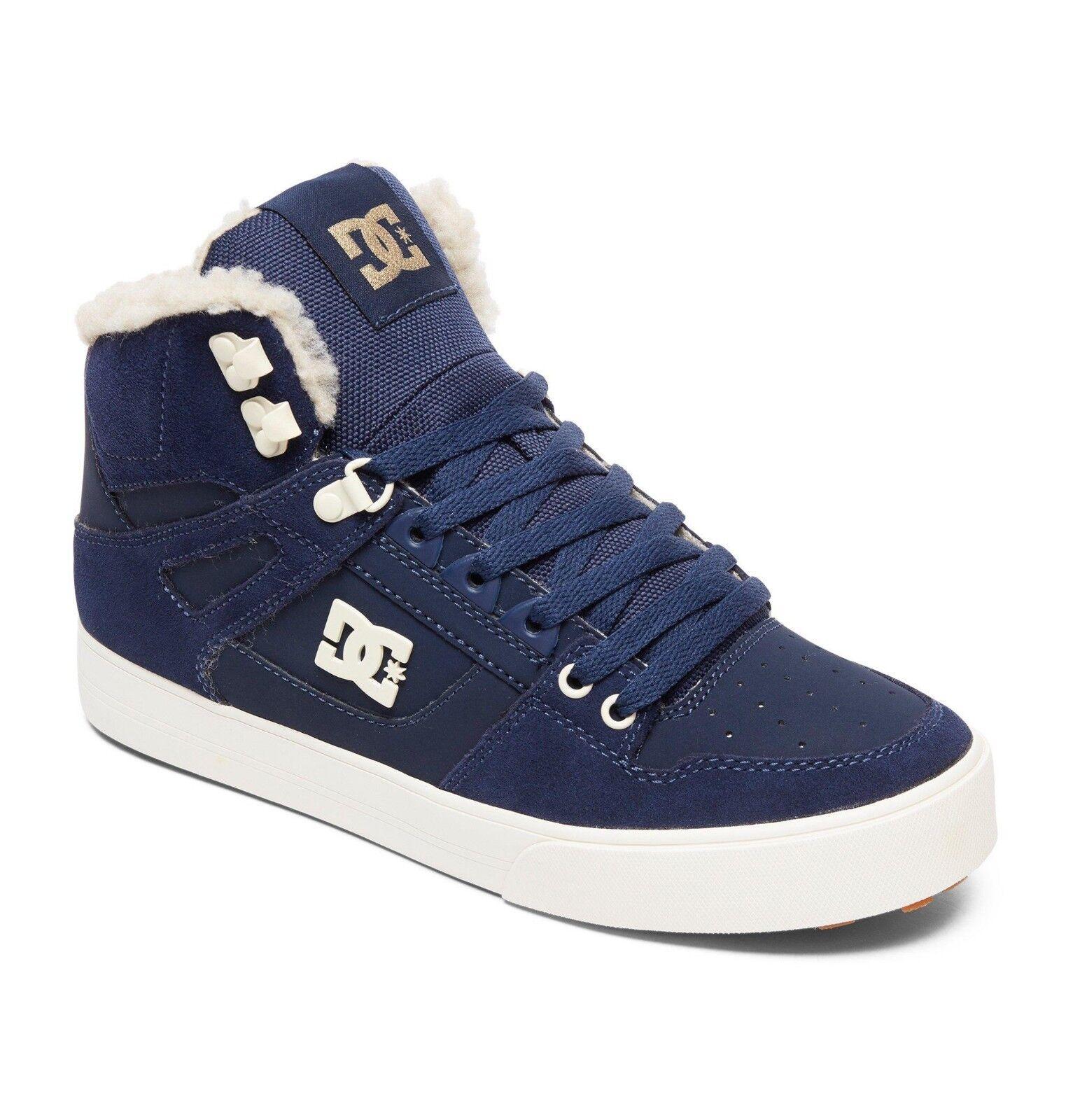 Zapatos botas para hombre Hi Top DC. Zapatos Altos De Cuero Forrado PURE WINTERIZED 8W 47 NKH