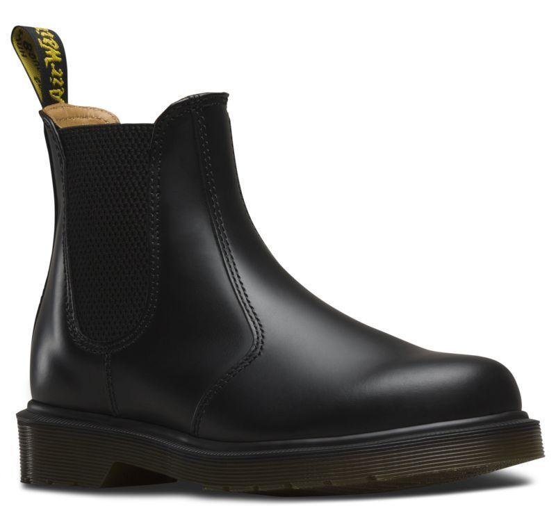 Dr. Martens - 2976-chelsea Boot botín negro cuero liso 11853001-nuevo