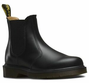 Dr-Martens-2976-Chelsea-Boot-Bottine-Noir-en-Cuir-lisse-11853001-NEUF